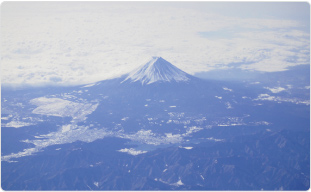 Location of Mount Fuji